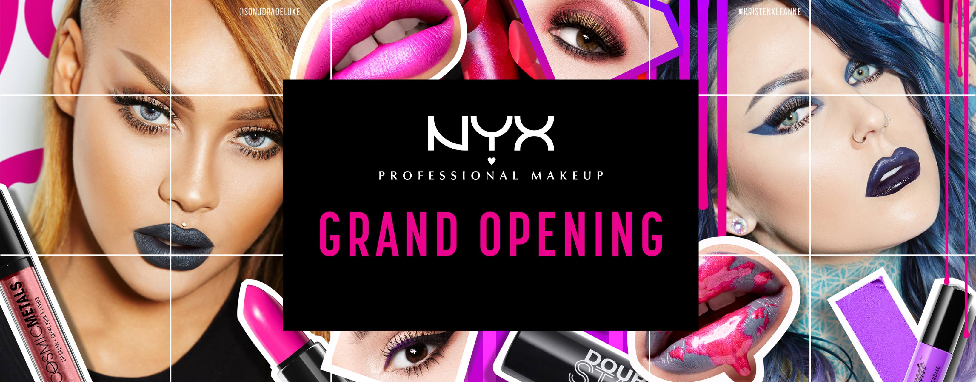 NYX Professional Makeup Grand Opening!