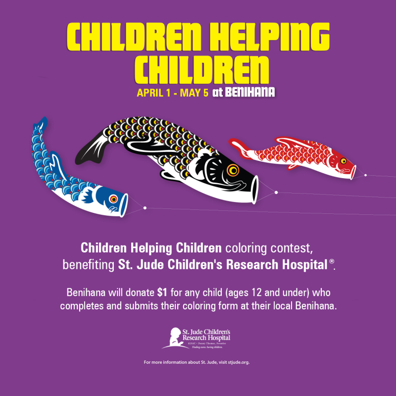 Color your hearts out with our Children Helping Children coloring contest