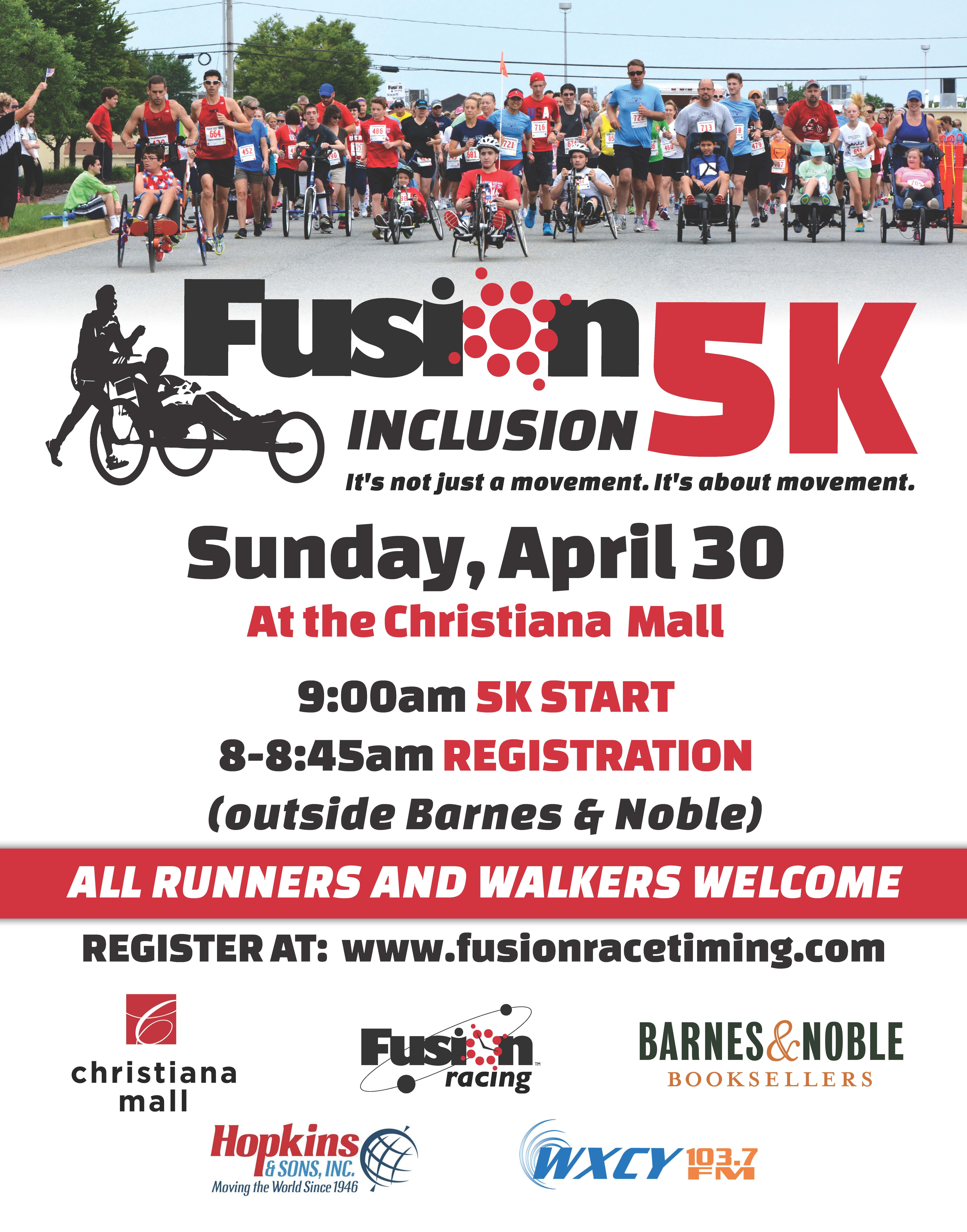 Fusion Inclusion 5K!