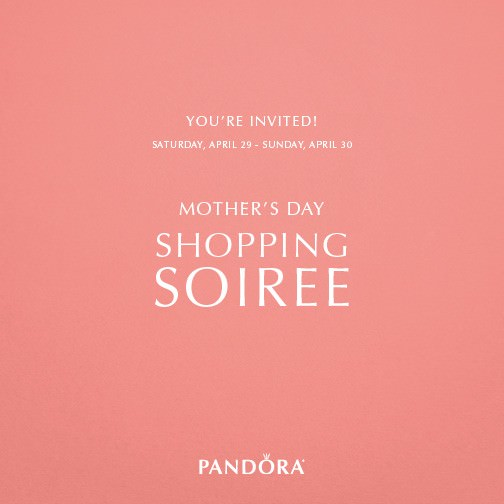 Mother's Day Shopping Soiree
