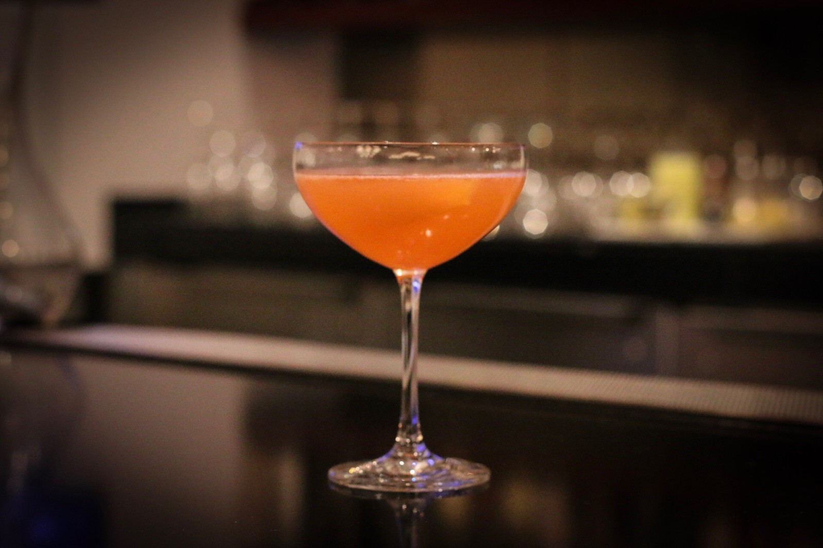 Calming Cocktail at CUT by Wolfgang Puck