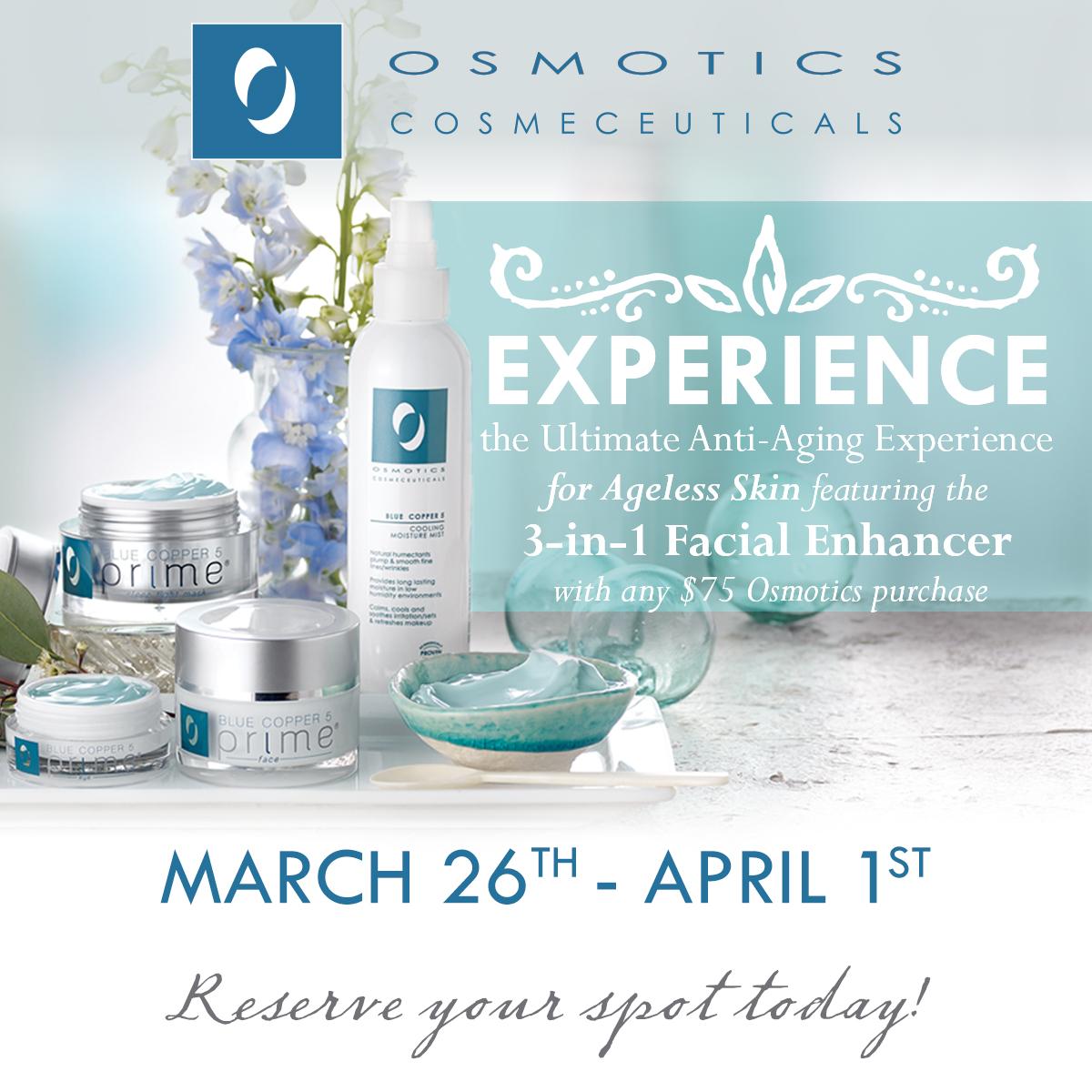 Osmotics Beauty Event
