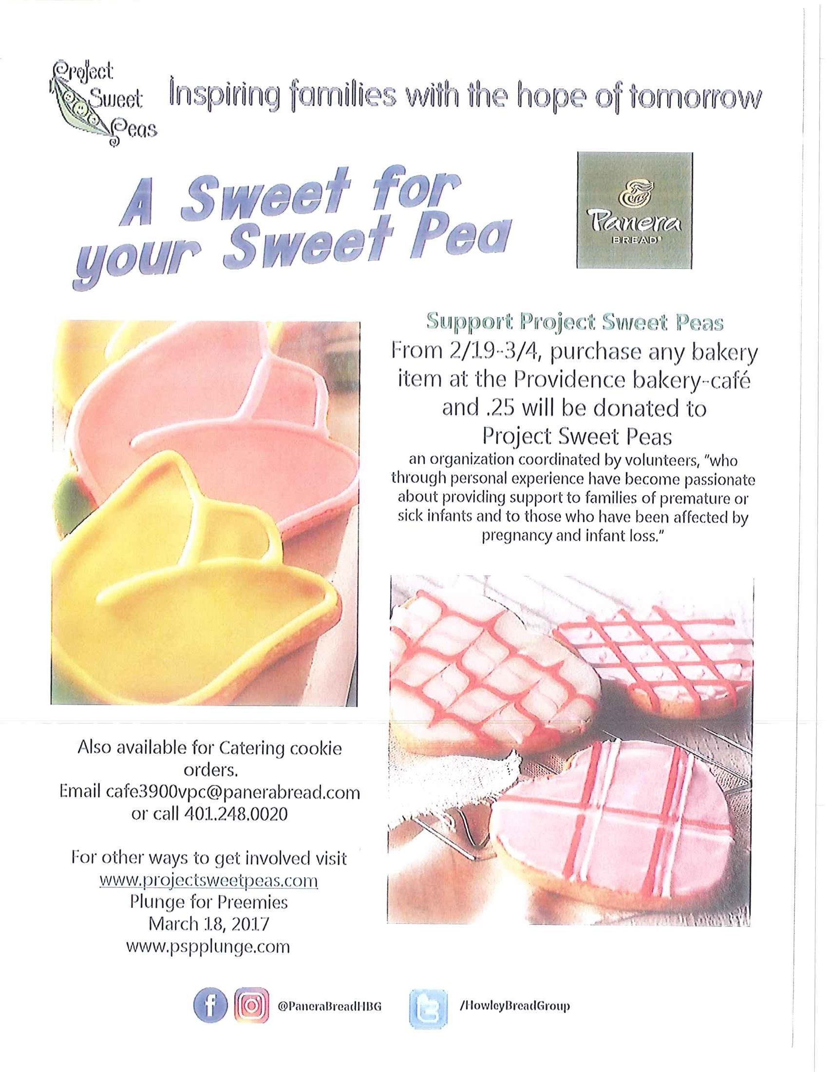 A Sweet for your Sweet Pea