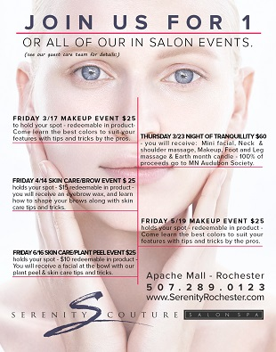 Salon Events